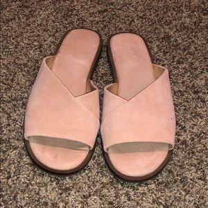 Franco Sarto Pink Sandals
